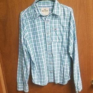 Hollister Button up (Flannel like)